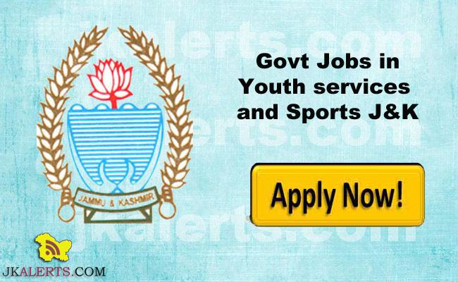 J&K District Youth Services & Sports Rehbar-e-Khel Recruitment | 71 posts