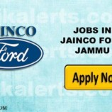 JAINCO FORD JAMMU RECRUITMENT, SALE, SERVICE , ADMINISTRATION & BACKEND JOBS