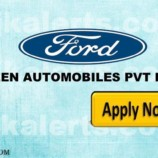 JOBS IN SHEEN AUTOMOBILES PVT LTD, Authorized Dealership of Ford in Jammu