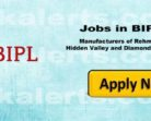 BIPL Urgently Required Manger sales, Area Sales Manager, Sales Executives, Manager MIS, Data Operators.