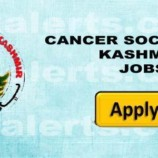 CANCER SOCIETY OF KASHMIR RECRUITMENT