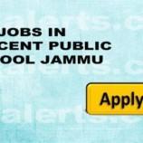 Walk in Interiew in Crescent Public School Jammu