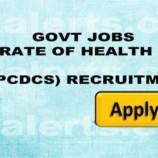 GOVT JOBS DIRECTORATE OF HEALTH SERVICES KASHMIR, (NPCDCS) RECRUITMENT