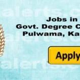 Jobs in Govt. Degree College Pulwama, Kashmir