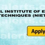 NATIONAL INSTITUTE OF EDUCATION AND TECHNIQUES (NIET) JOBS