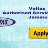 Jobs in Voltas Authorised Service Centre Jammu