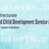 JOBS IN STATE MISSION DIRECTORATE, ICDS/ICPS, J&K