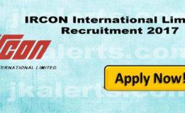 IRCON INTERNATIONAL LIMITED RECRUITMENT 2018