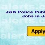 Jobs in J&K Police Public School Jammu
