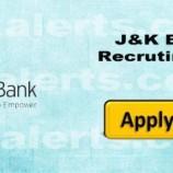 J&K Bank Recruitment 2017