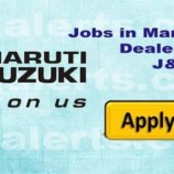 Jobs in Jamkash Vehicleades Maruti Suzuki Dealership Jammu