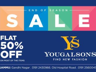 Flat 50% off on Yougal Sons Jammu
