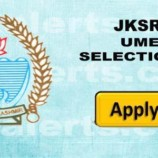 UMEED Interview Schedule and Selection list Jammu and Kashmir Division Candidates