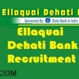 Jobs in Ellaquai Dehati Bank