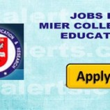 MIER COLLEGE OF EDUCATION JAMMU RECRUITMENT 2018