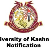 Important Notice Kashmir University PG Admissions-2017