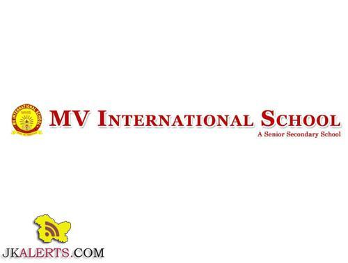 MV INTERNATIONAL SCHOOL WALK IN INTERVIEW