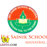J&K Sainik School Manasbal Admission in class 6th and class 9th Session 2017-18