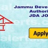 Jammu Development Authority, JDA Hiring of Experts/Consultants.