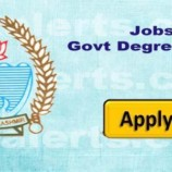 Government Degree Colleges of Jammu Division Recruitment for academic session 2017-18.