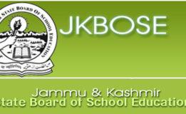 JKBOSE CLASS 10th 12th Rescheduled Date Sheet