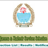 JKSSB Filling up of vacant posts of Assistant Draftsman, Assistant Legal Remembrancer/
