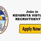 KENDRIYA VIDYALAYA KV BHADARWAH RECRUITMENT 2018