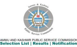 JKSPC Recruitment 2018Range Officers Grade-I 44 posts