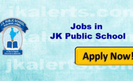 JK Public School, Kunjwani Jobs