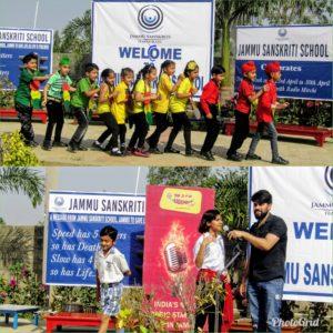 Jammu Sanskriti School Jammu Observed Traffic week